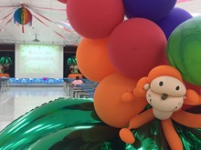 照片-活動會場可愛的氣球裝飾,JPG檔另開視窗